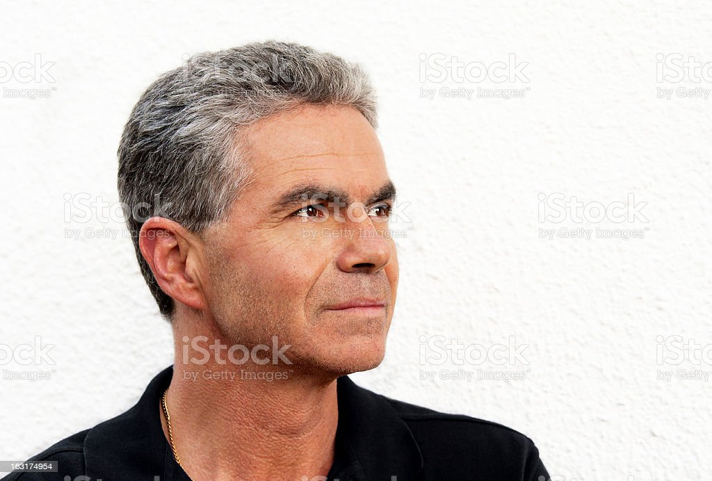 Male Portrait 50s stock photo