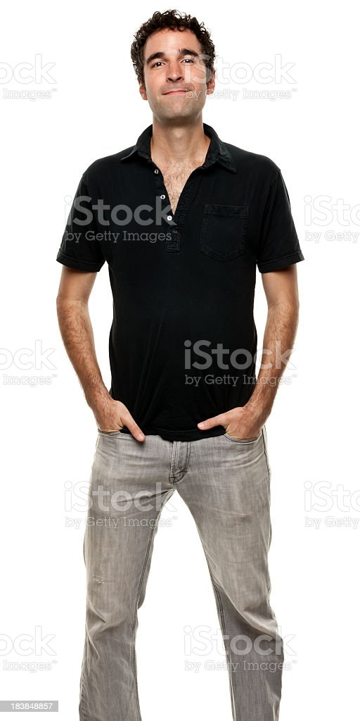 Male Portrait royalty-free stock photo
