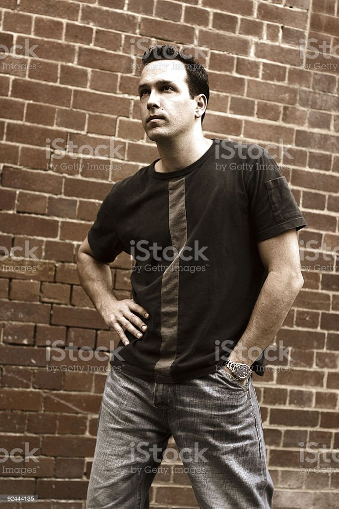 Male Pose royalty-free stock photo