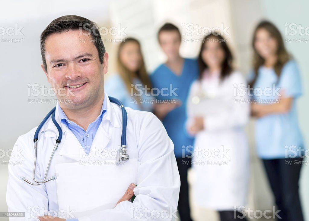 male professional doctor royalty-free stock photo