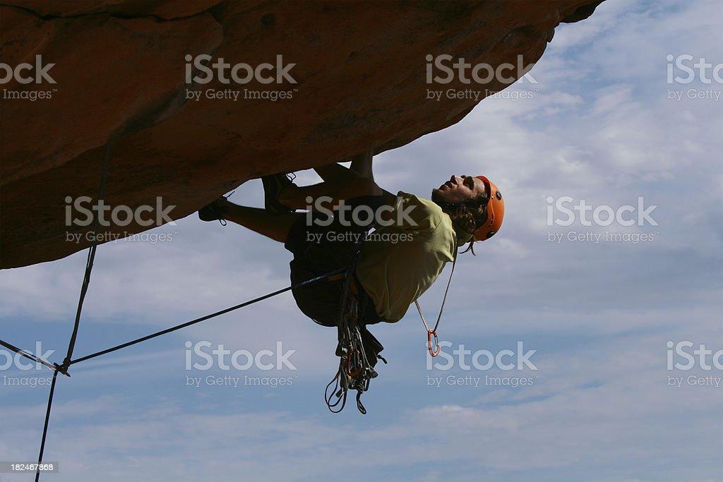 Male Rockclimber royalty-free stock photo