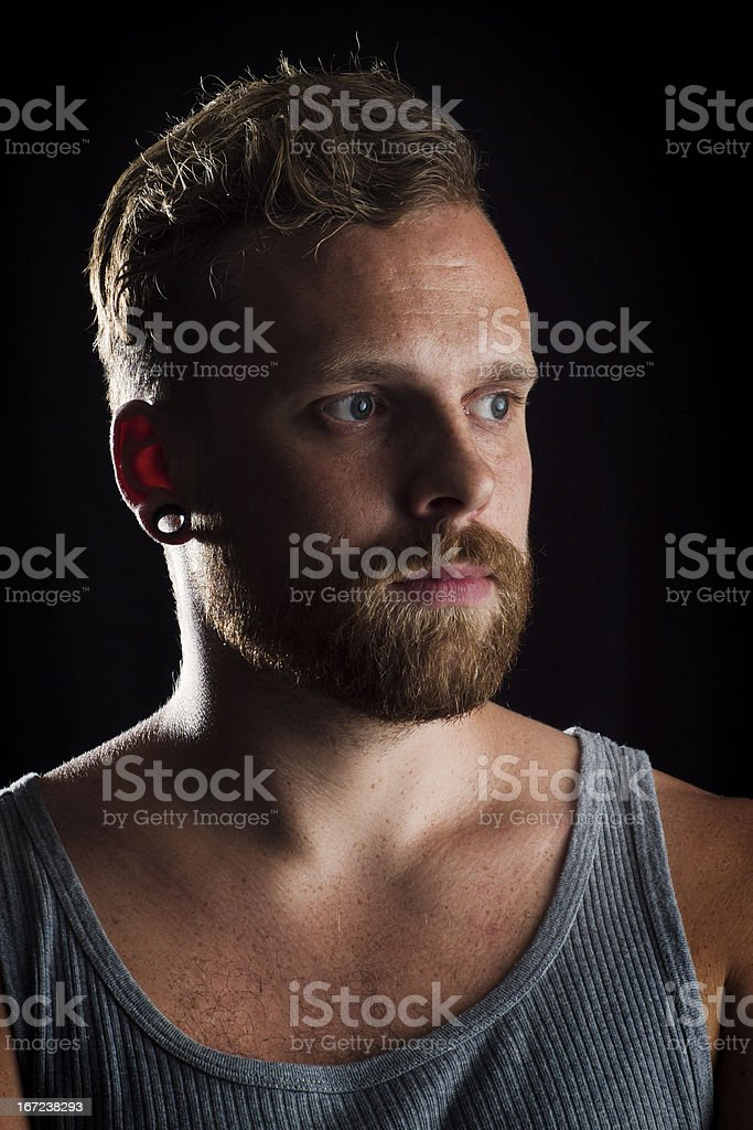 Male Rocker royalty-free stock photo