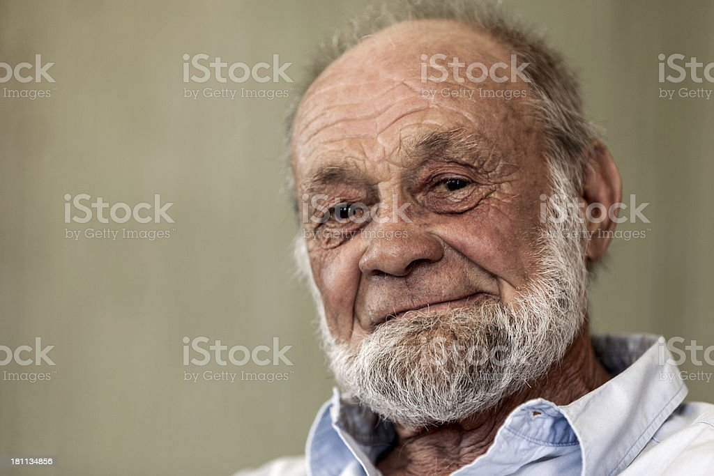 Male Senior Citizen royalty-free stock photo