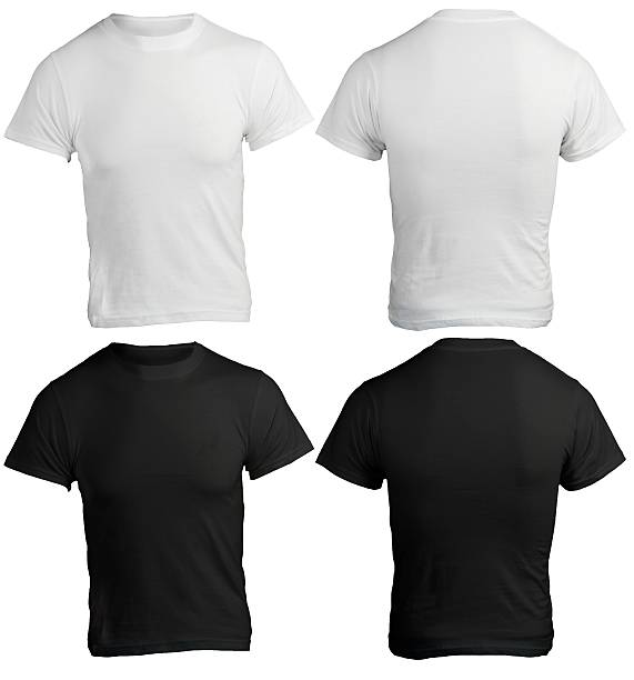 T shirt pictures images and stock photos istock for White t shirt template front and back