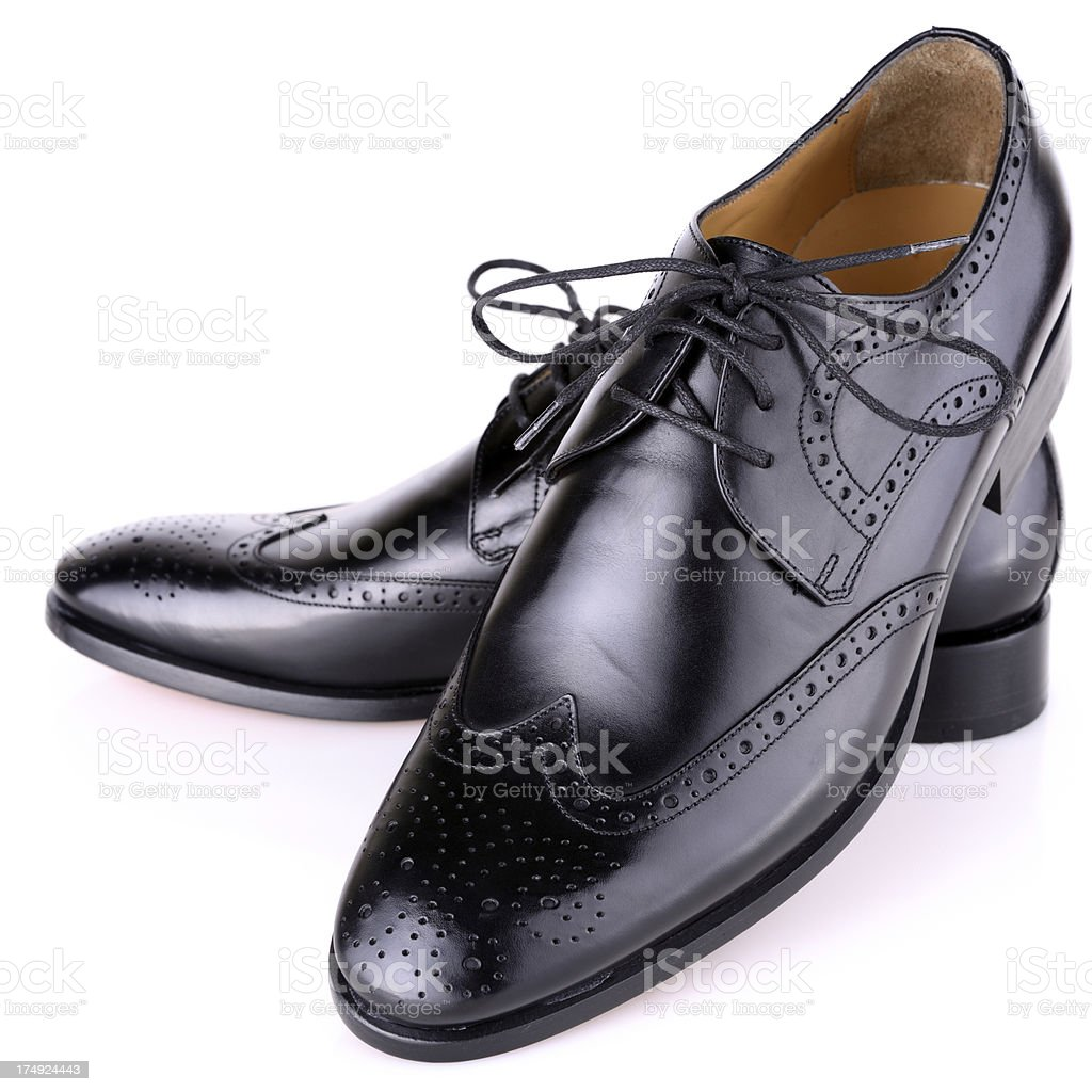 Male shoes royalty-free stock photo