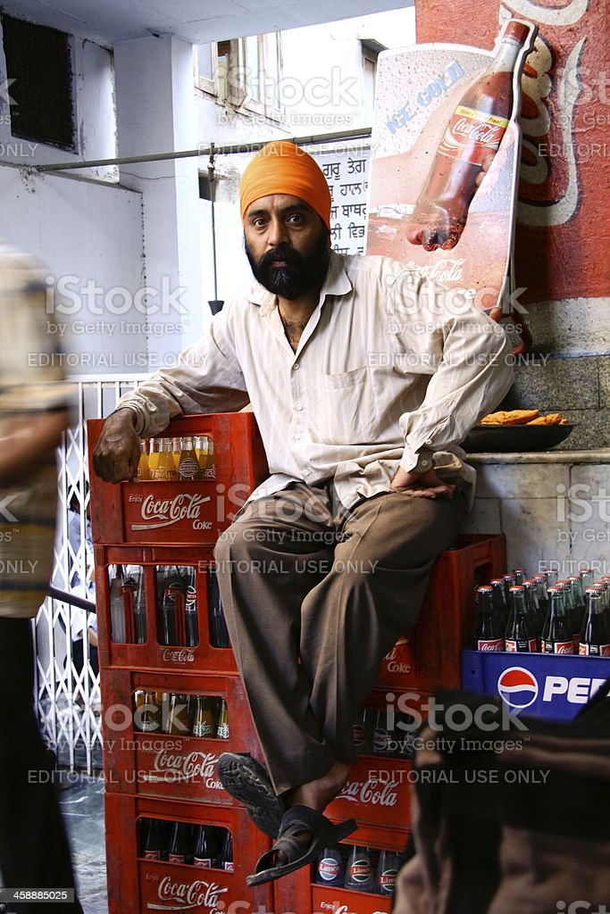 male sikh royalty-free stock photo