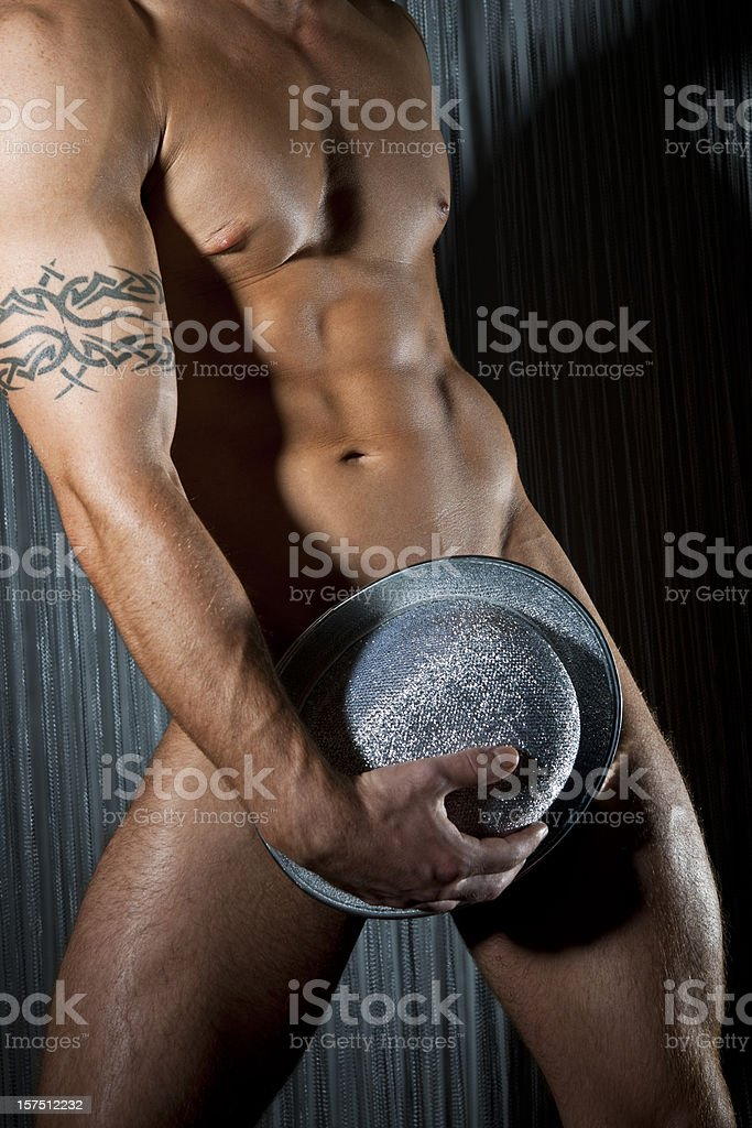 Male Stripper royalty-free stock photo