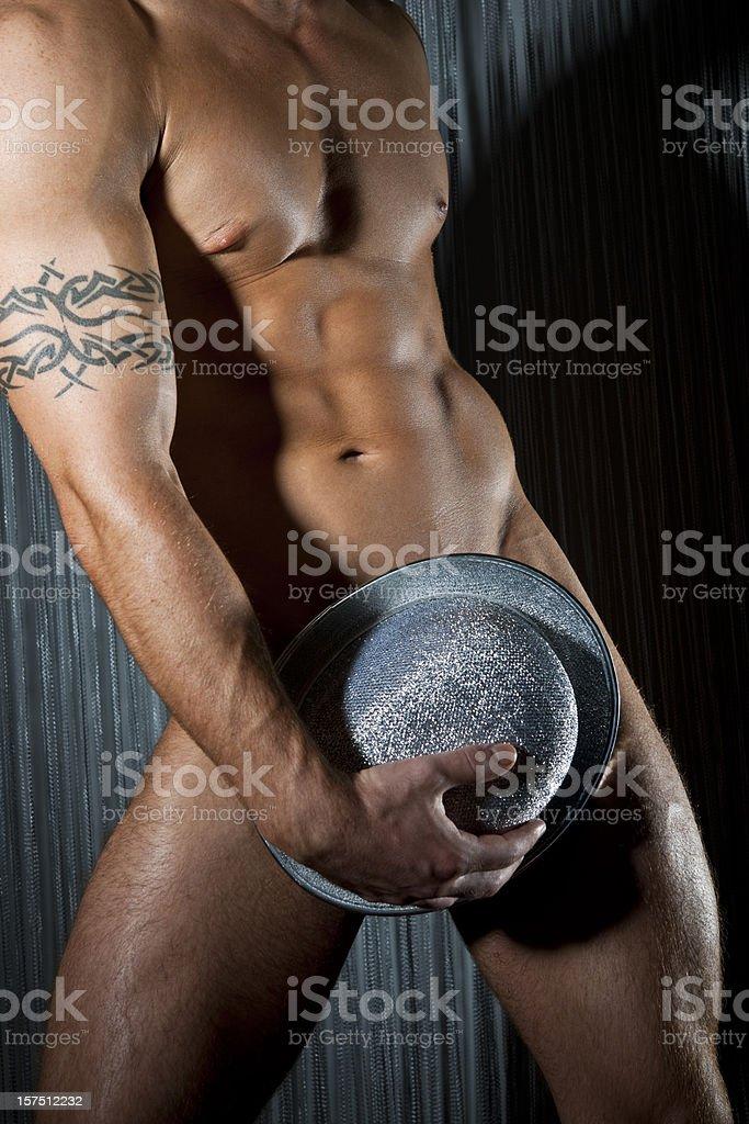 Male Stripper stock photo