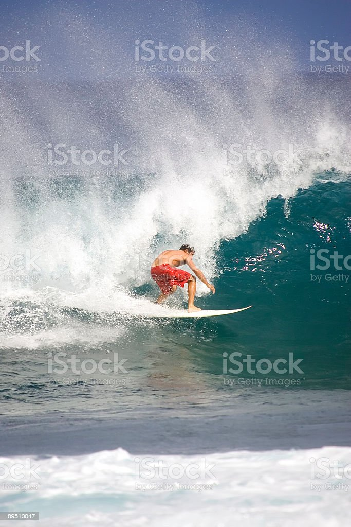 Male Surfer royalty-free stock photo