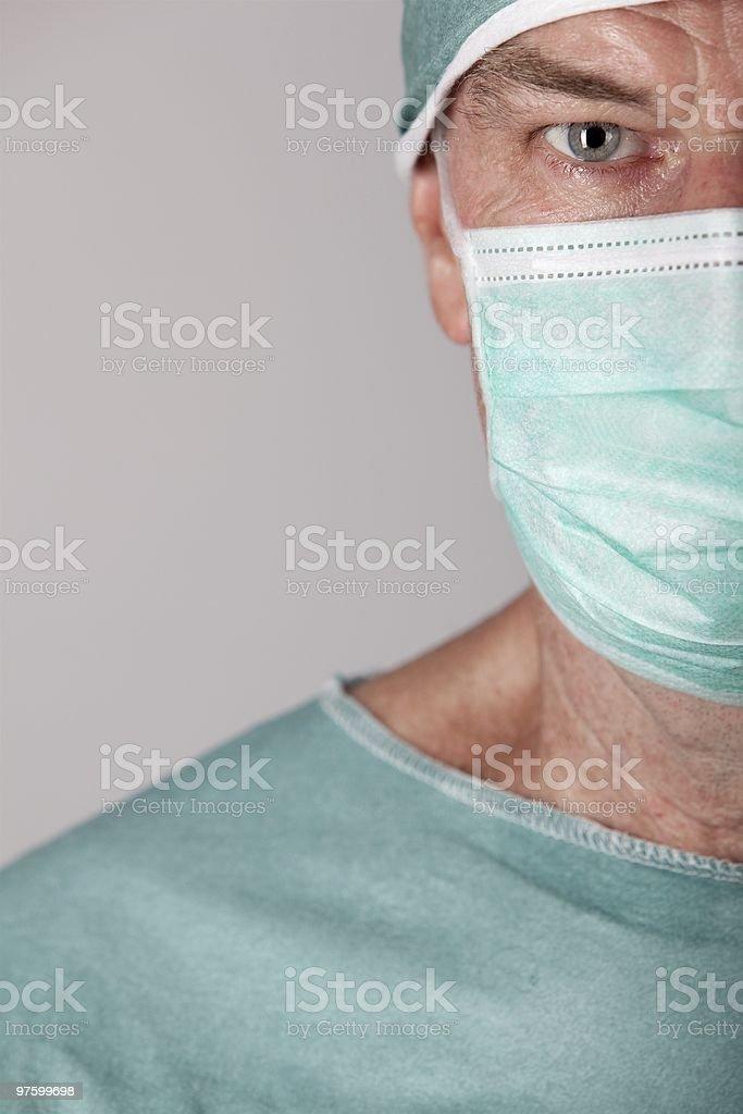 Male Surgeon royalty-free stock photo