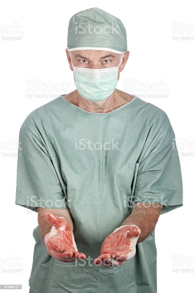 Male Surgeon royalty-free stock photo