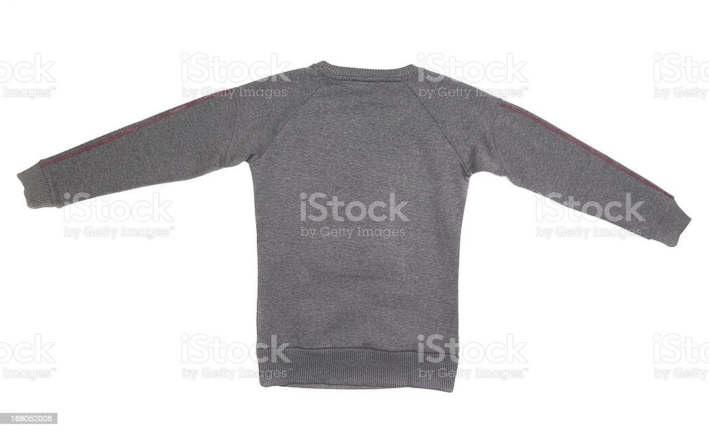 Male sweater isolated royalty-free stock photo