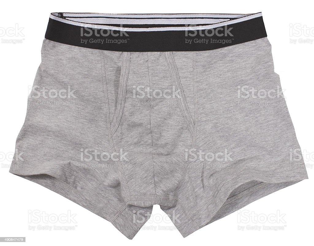 Male underwear stock photo