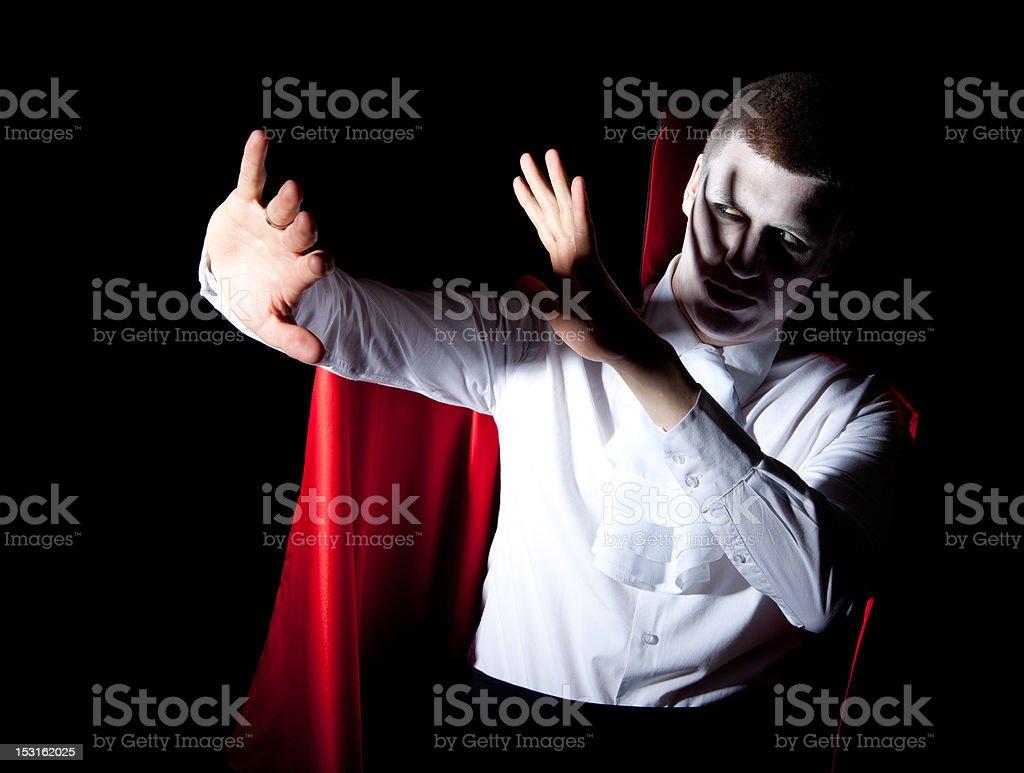 male vampire defense light royalty-free stock photo