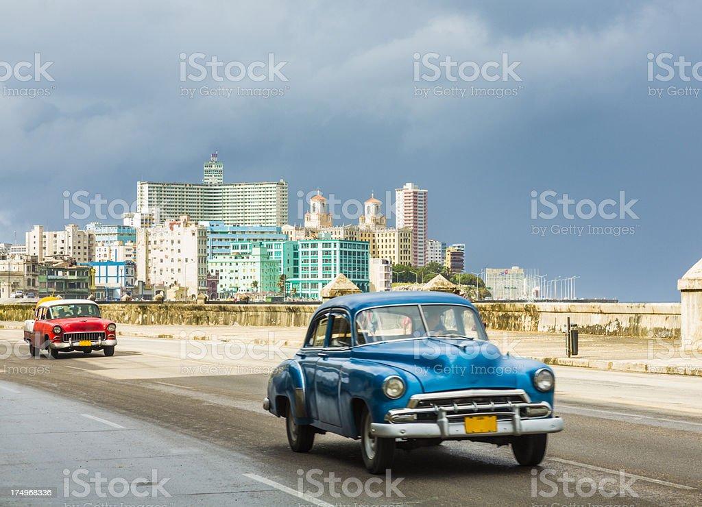 Malecon in Havana, Cuba stock photo