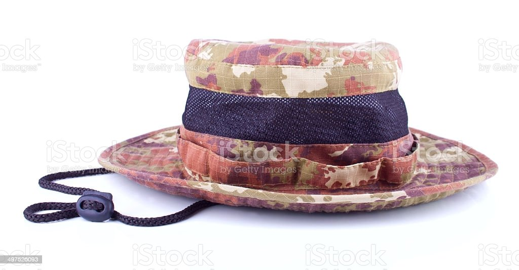 Male's hat for outdoor leasure stock photo
