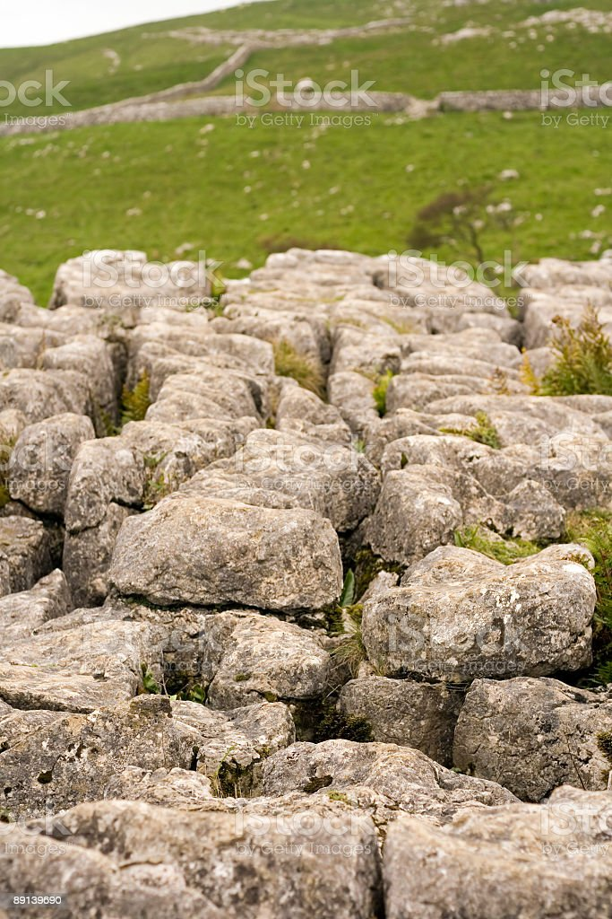 Malham in the Yorkshire Dales stock photo