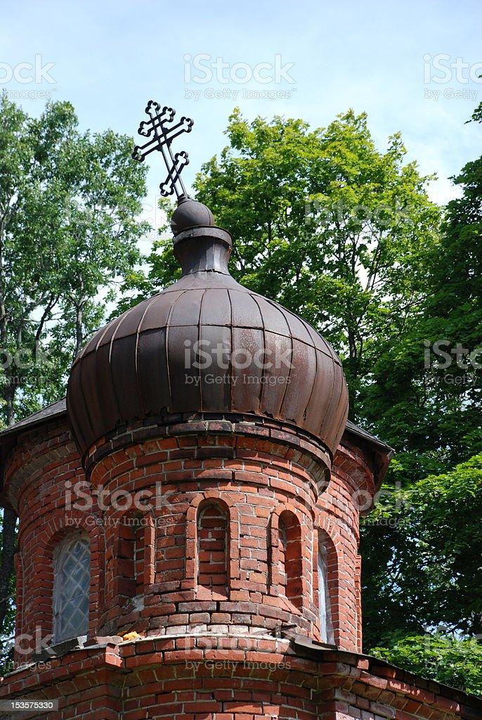 Mali Orthodox Church royalty-free stock photo