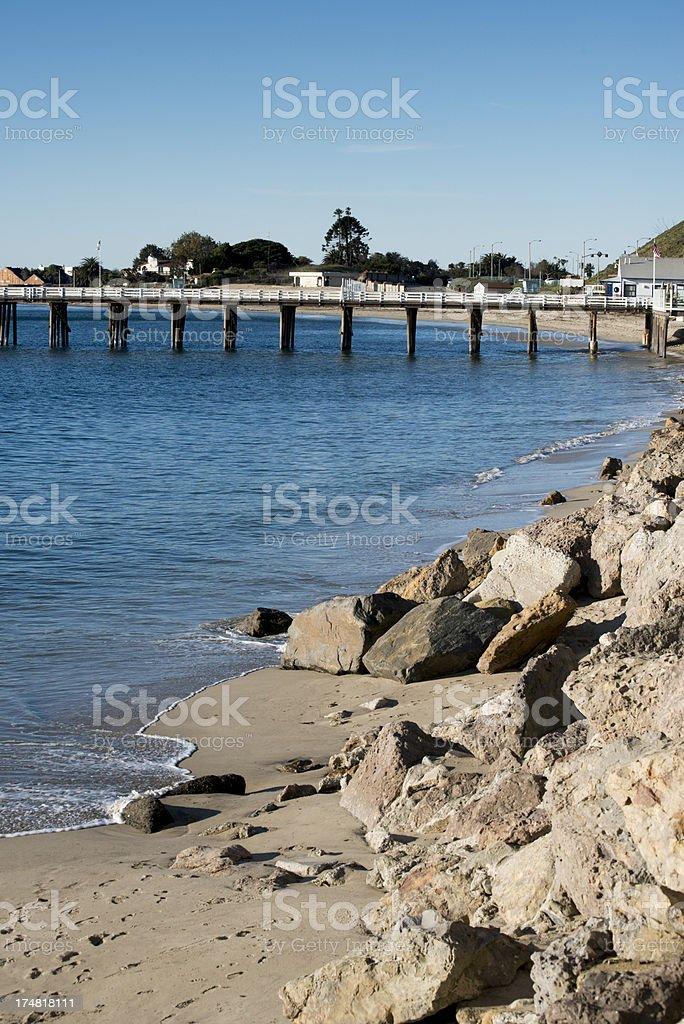 Malibu Beach royalty-free stock photo