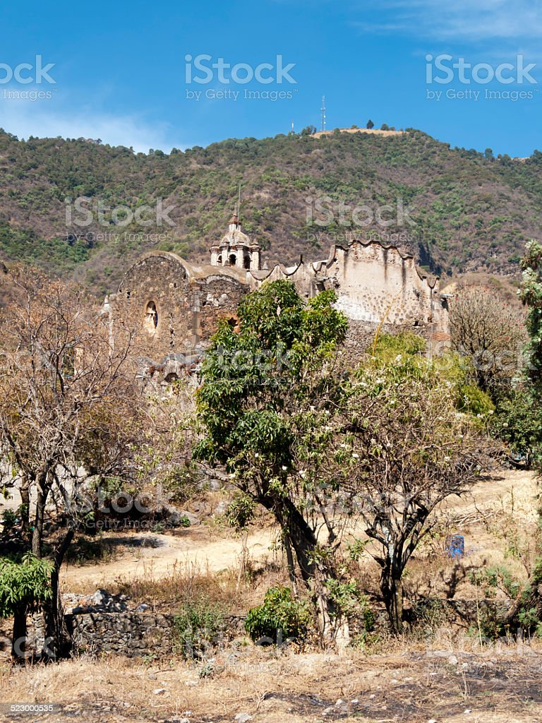 Malinalco - Mexico stock photo