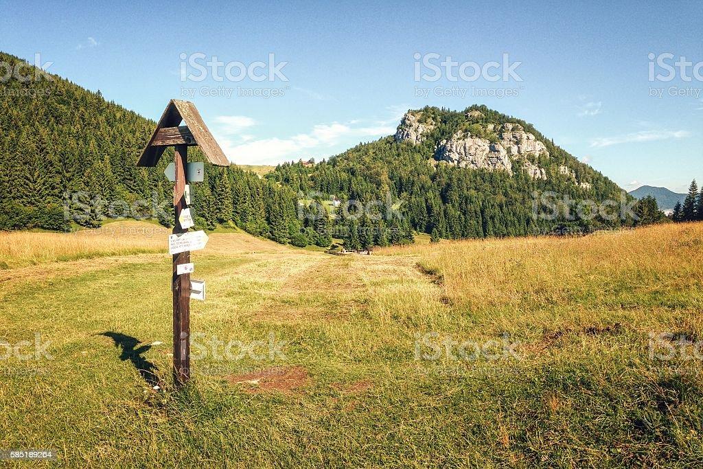 Malino Brdo in Great Fatra (Velka Fatra) National Park, Slovakia stock photo