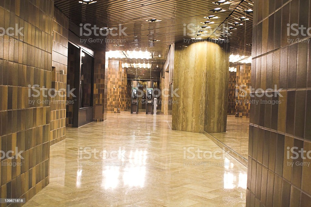 mall allee royalty-free stock photo