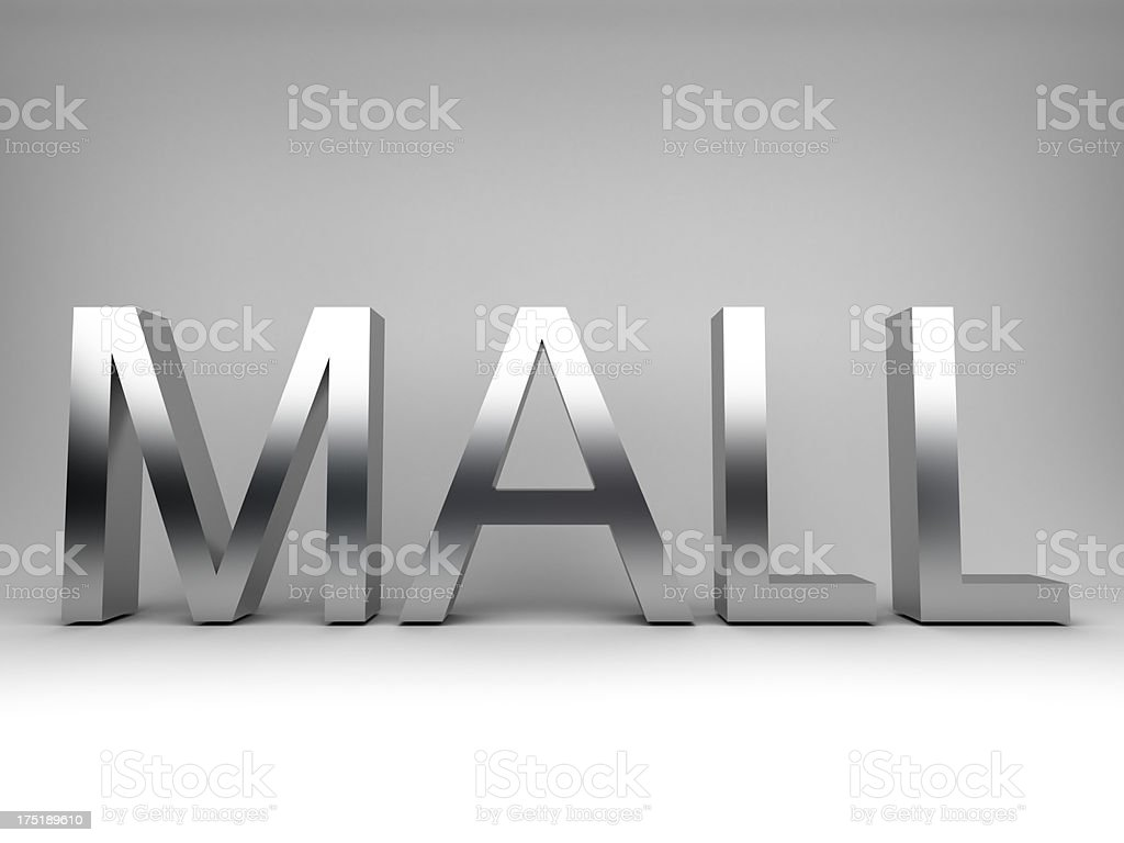 mall concept royalty-free stock photo
