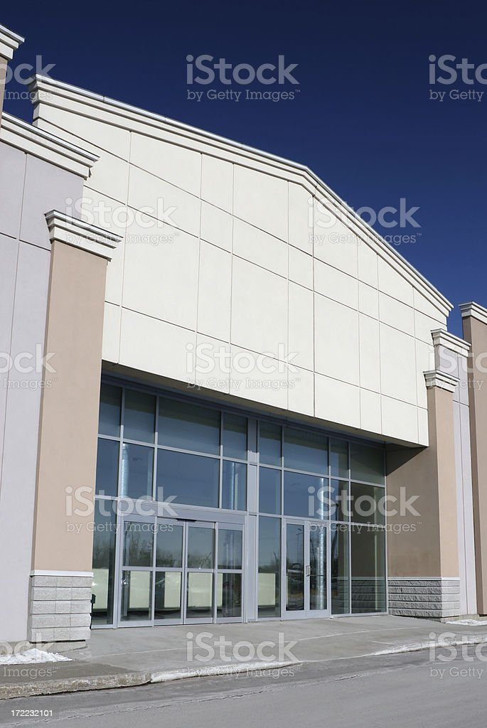 Mall Entrance royalty-free stock photo