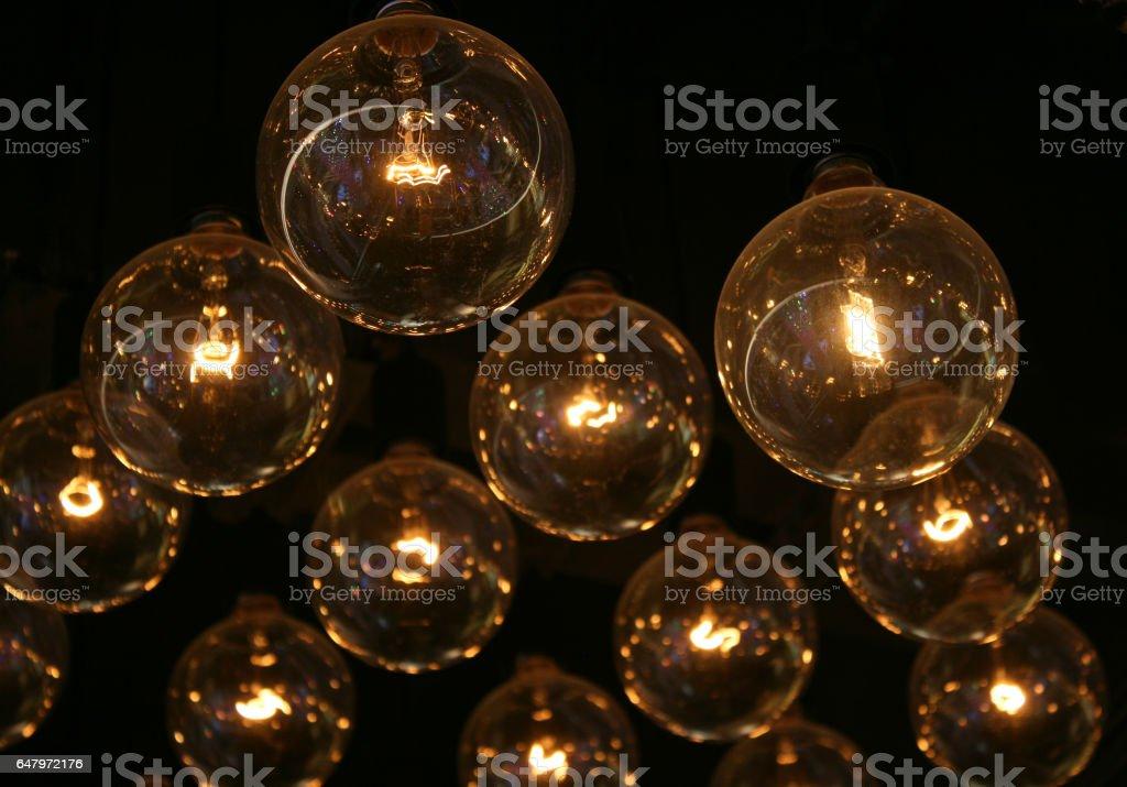 Mall Lights stock photo