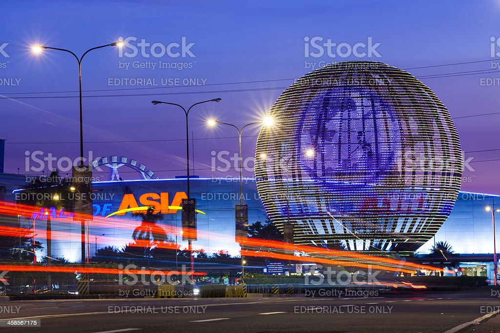 SM Mall of Asia in Passay City Metro Manila stock photo