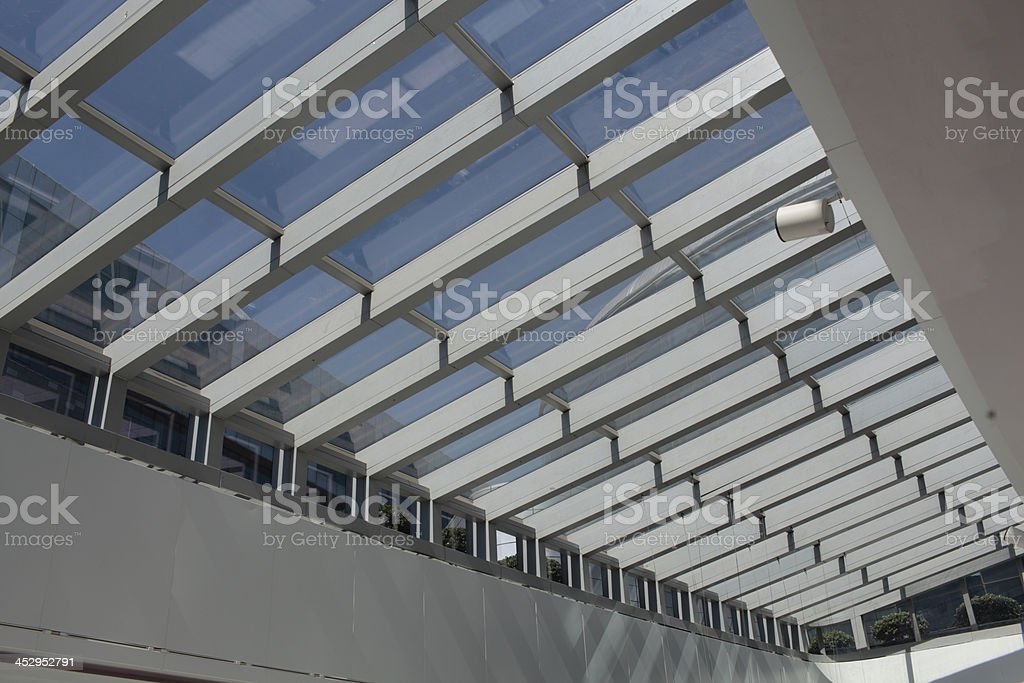 mall roof royalty-free stock photo