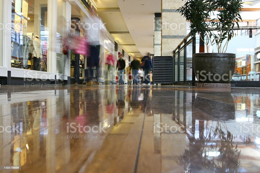 Mall shopping royalty-free stock photo
