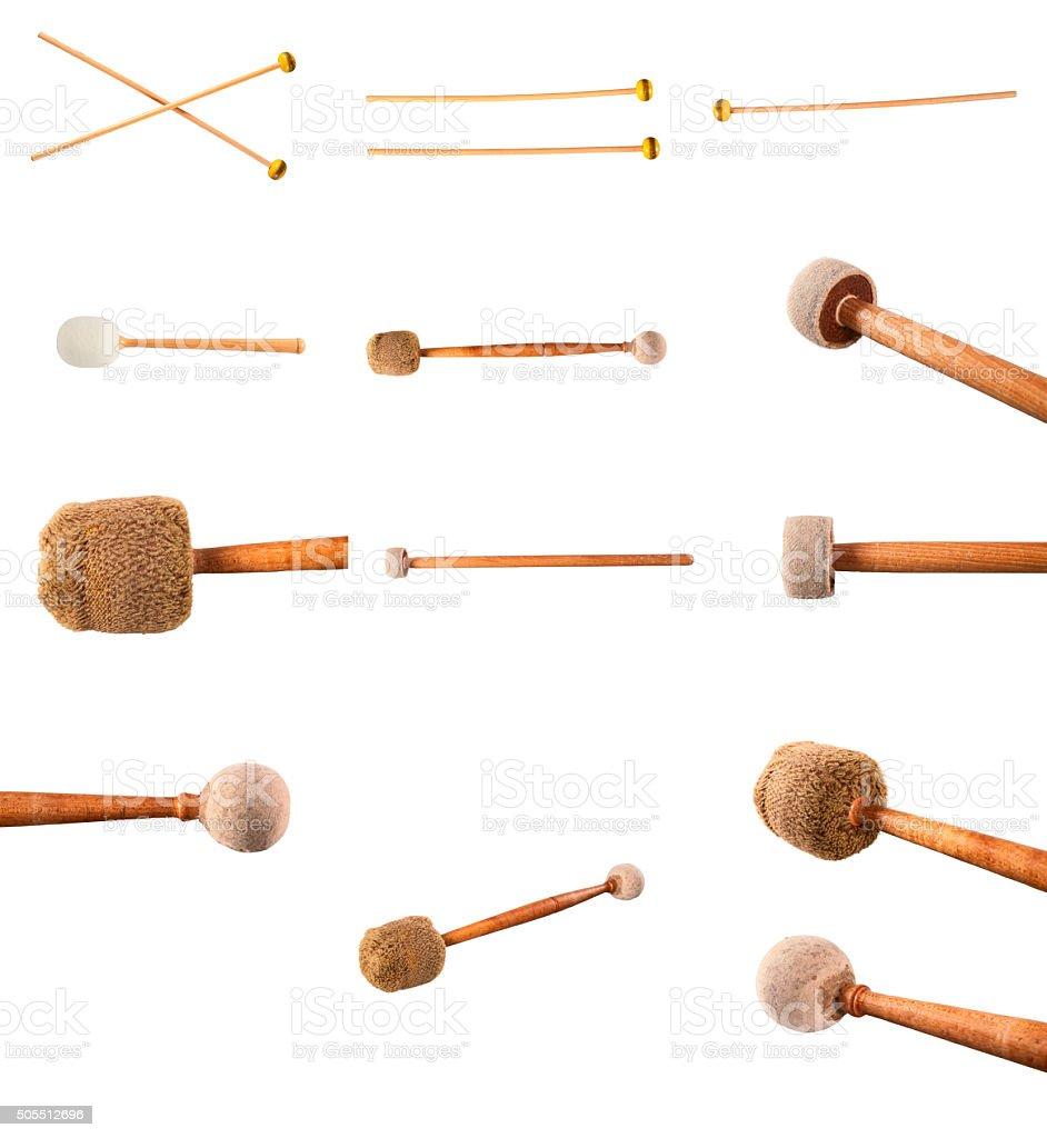 Mallets Percussion stock photo