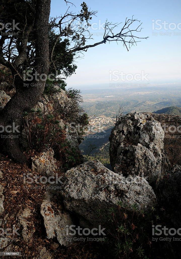 Mallorca Krajobraz zbiór zdjęć royalty-free