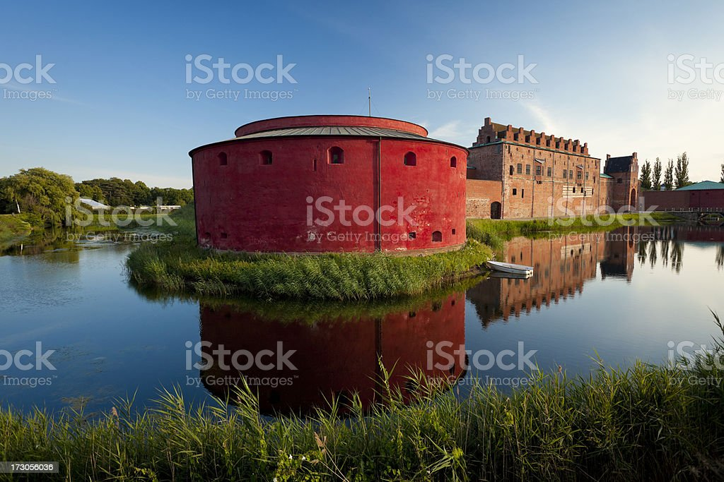 Malmo Castle, Sweden stock photo