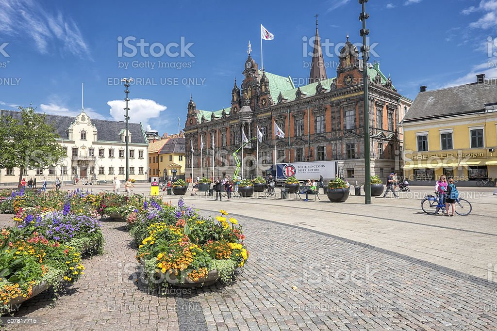 Malmo in Sweden stock photo