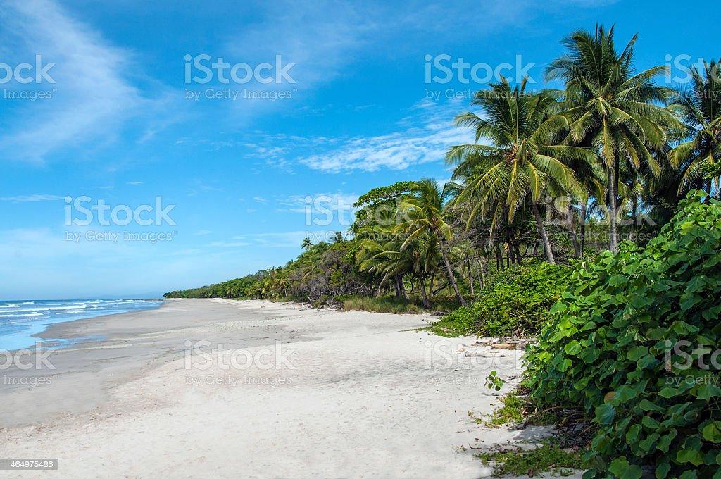 Malpais Beach, Costa Rica stock photo