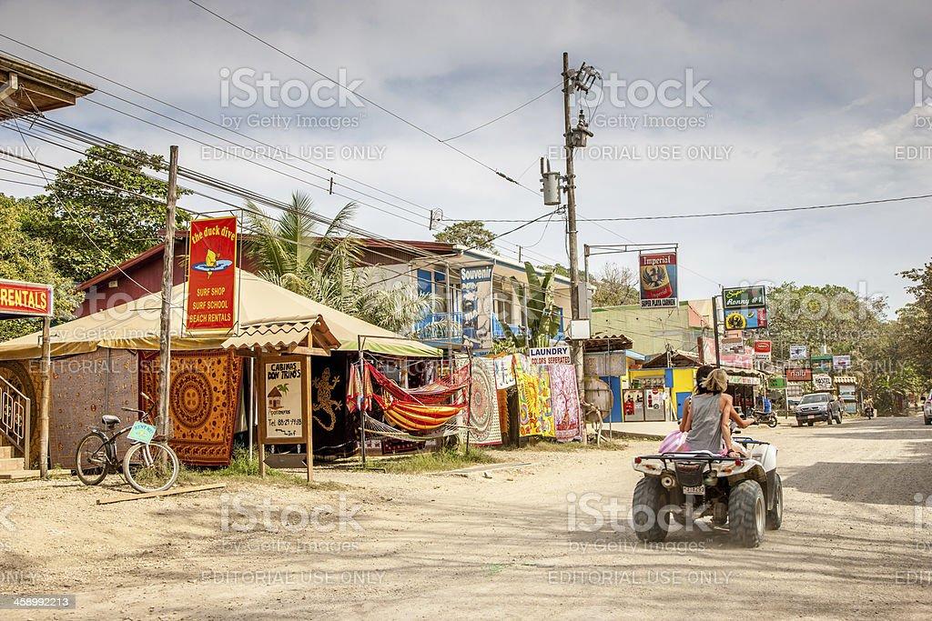 Malpais Playa Carmen Costa Rica royalty-free stock photo