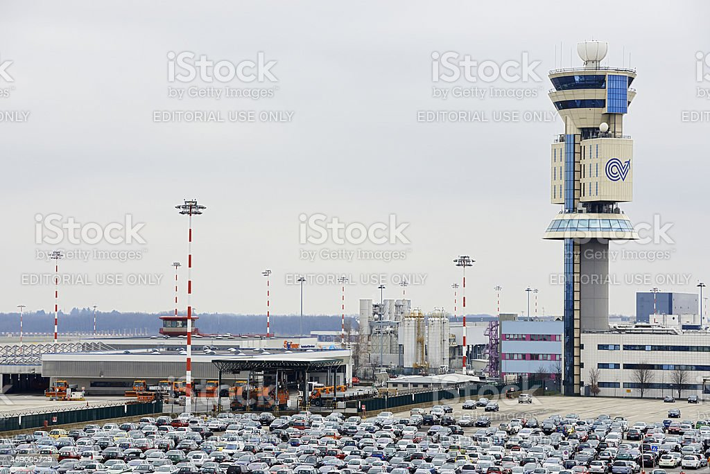Malpensa Airport royalty-free stock photo
