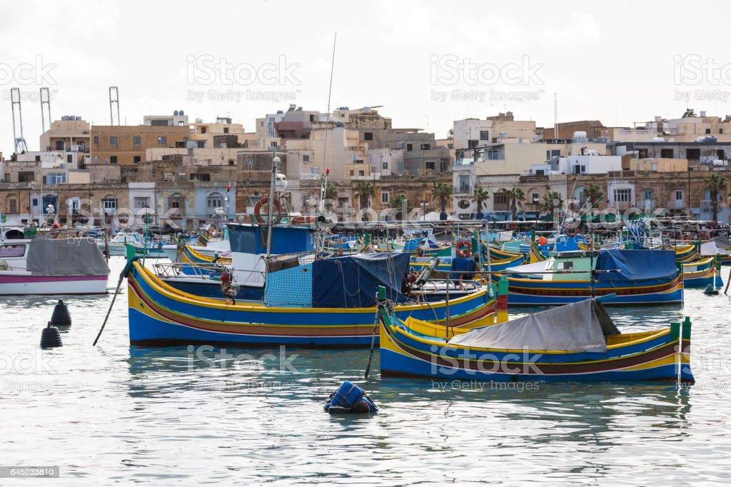 Malta, Marsaxlokk stock photo