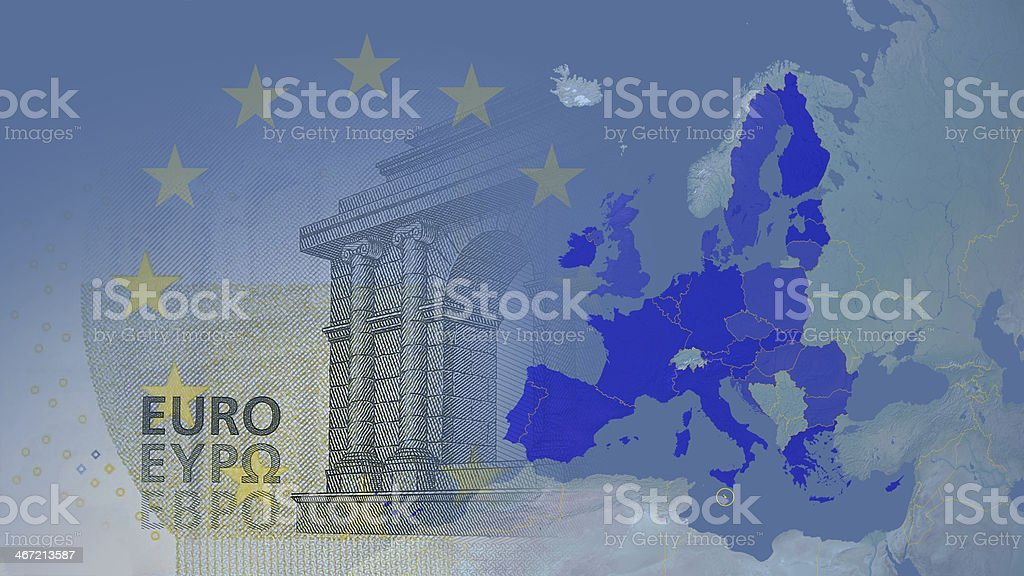 Malta member Eurozone since 2008 16:9 stock photo