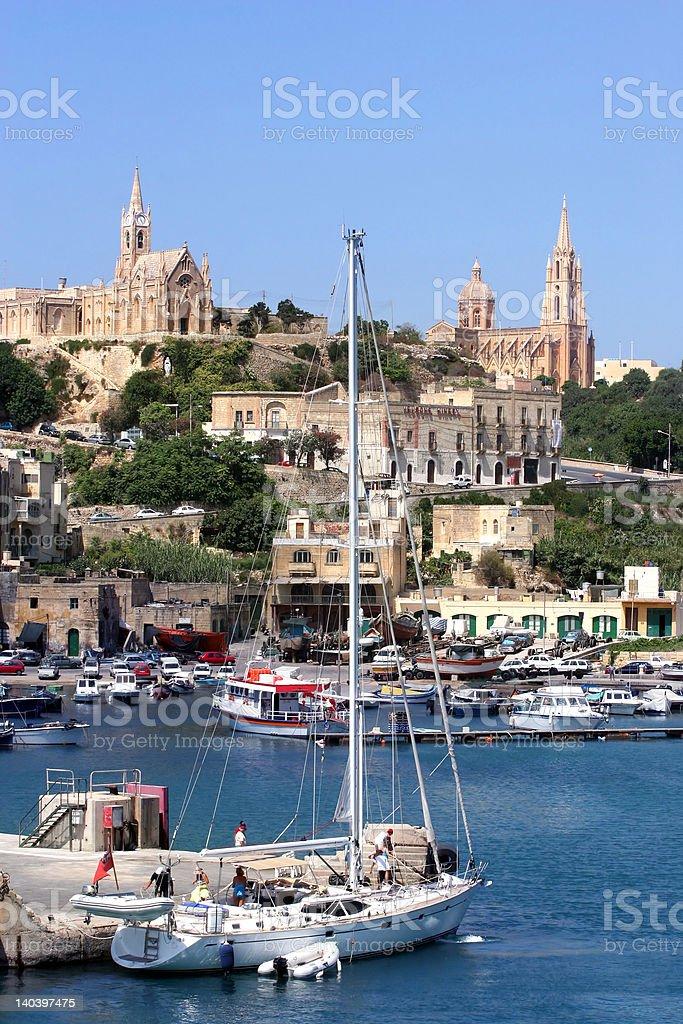 Malta-Gozo royalty-free stock photo