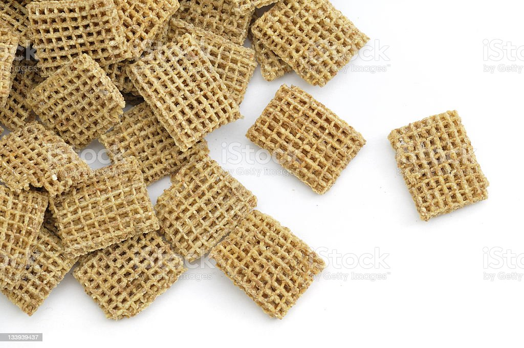 Malted Wheat Scattered stock photo