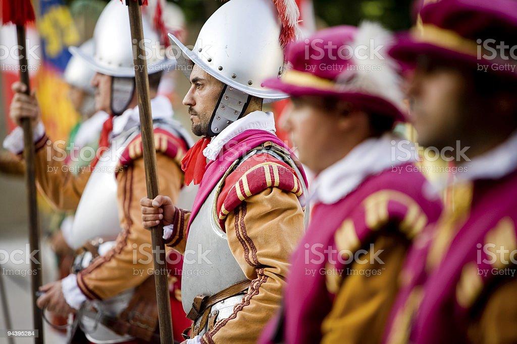 Maltese Guard stock photo