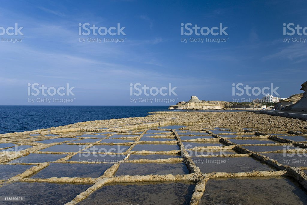 Maltese Islands stock photo