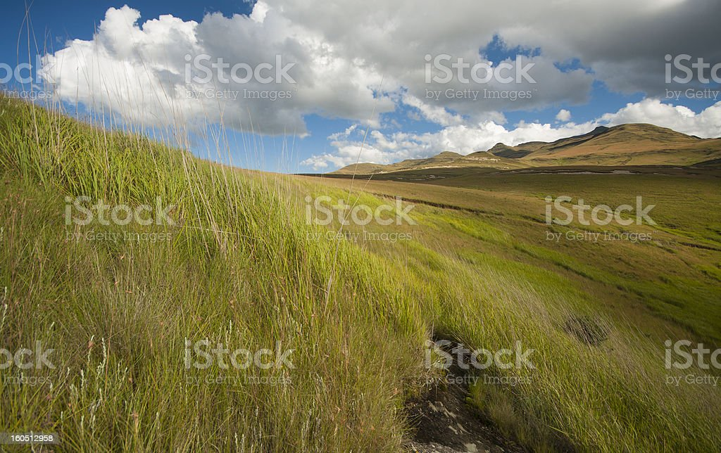 Maluti Mountains royalty-free stock photo
