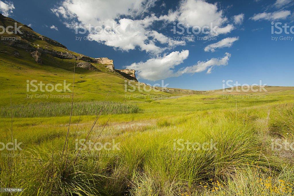 Maluti mountains royalty-free stock photo