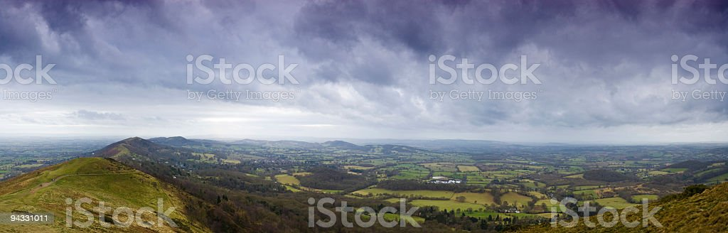 Malvern Hills, England stock photo