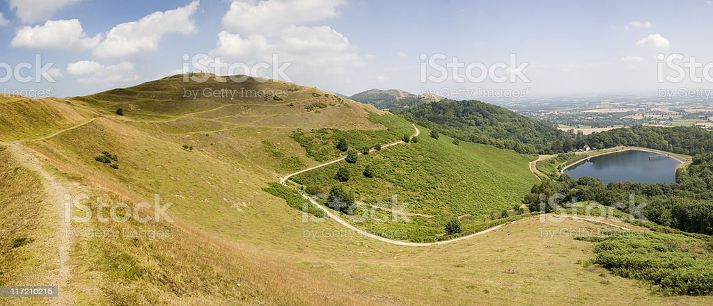 Malvern Hills stock photo