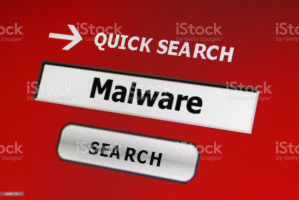 Malware royalty-free stock photo
